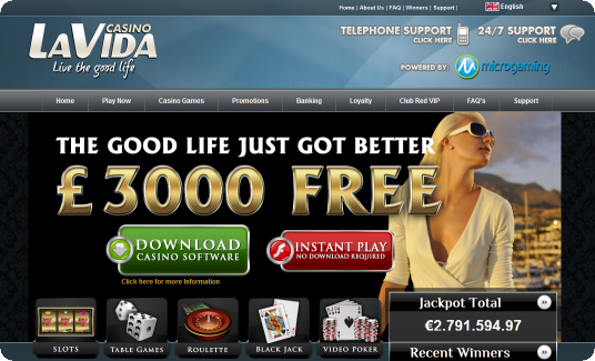 Casino LaVida Review