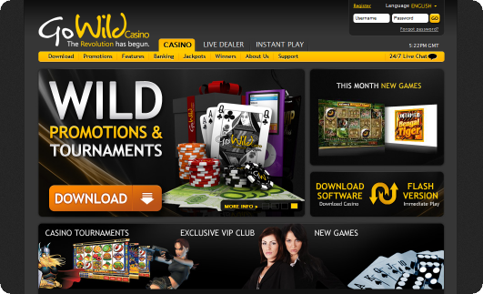 Go wild casino games download best real money poker apps for iphone